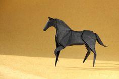 Origami Horse by Hideo Komatsu by ronatka