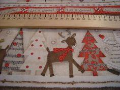 Tissu Noël 100% coton de L'Atelier de la Souris sur DaWanda.com