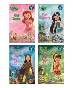 Loving this Disney Fairies Level 1 Reader Paperback Set on #zulily! #zulilyfinds
