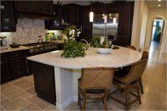 Kitchen Island Freestanding Storage 20 Ideas For 2019 Kitchen Island With Stove, Sink In Island, Kitchen Island Decor, Kitchen Island With Seating, Kitchen Layout, New Kitchen, Kitchen Design, Kitchen Islands, Kitchen Ideas