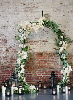 26 Elegant Altar and Arch Ideas for Vintage Wedding Decorations, # # have no idea about your altar for your wedding? Here are five altar and arch ideas to complete your perfect vintage wedding decorations. Wedding Ceremony Ideas, Indoor Wedding Ceremonies, Indoor Ceremony, Wedding Altars, Wedding Arches, Backdrop Wedding, Wedding Pics, Wedding Blog, Arco Floral