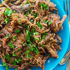 The perfect basic Crockpot Beef recipe for everything from Asian to Mexican!