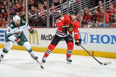 Minnesota Wild at Chicago Blackhawks - 05/04/2014 Hawks win 4-1 Up 2-0 in the series