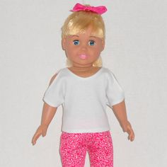 American Girl Doll Clothes Hot Pink Leopard by AmericanDollClothes