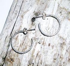 Sterling Silver Open Hoop Earrings - UK Free Post £17.90 Earrings Uk, Hoop Earrings, Loch Ness Monster, Beautiful Gifts, Beautiful Earrings, Gifts For Friends, Sterling Silver Earrings, Scotland, How To Make