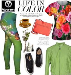 Love colorful patterns and flowers? You'll adore our new #OOTW!http://bit.ly/lifeincolor1 #OOTD