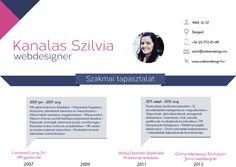 infografika önéletrajz - Google keresés