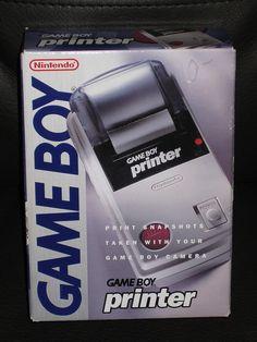 GAME BOY printer -MISB- by OpTILLmus, via Flickr