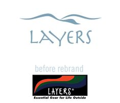Layers Outdoor Apparel Brand Identity, Apparel design, retail tags, catalog and promotion, strategic messaging, photo direction, brand guidelines by Designbox #designboxbrand #designboxproduct #designboxprint #designboxoutdoor