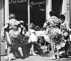 Cas Oorthuys,  wasserij  pm 1960