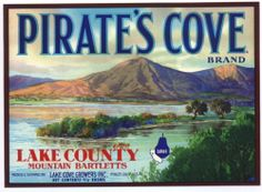 lake county pear label