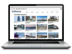 Website design for McLaren Engineering Group. Content by Violet PR, built by Arturan.