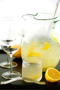 White Wine & Lemon Aperitivo