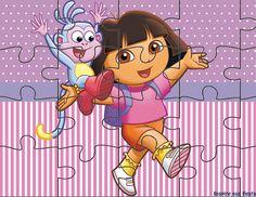 Dora Aventureira – Kit festa infantil grátis para imprimir – Inspire sua Festa ® Dora Coloring, Coloring Books, Baby Mickey, Dora The Explorer, Scroll Saw, Puzzles, Princess Peach, Minnie Mouse, Disney Characters