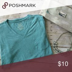 NWT Faded Glory Teal Jersey Tee NWT! Size 12-14. Made in Vietnam. 60% cotton and 40% polyester! ⭐️Use like button to get price drop notifications! ❤️ ⭐Bundle to save   ⭐️Personalized bundles!  ⭐️ Use the offer button ⭐️Same day shipping ⭐️ Smoke free home  No PayPal   I don't sell on any other apps  No trades Faded Glory Tops Tees - Short Sleeve