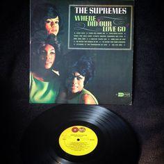 """The Supremes - Where Did Our Love Go1964, CANADA, Motown MT-621Segundo álbum del grupo femenino The Supremes, el disco supone el lanzamiento al mercado del muy comentado """"Sonido Motown"""". Al escuchar \"""