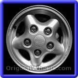 Land Rover Defender 1996 Wheels & Rims Hollander #72143A #LandRover #Defender #LandRoverDefender #1996 #Wheels #Rims #Stock #Factory #Original #OEM #OE #Steel #Alloy #Used