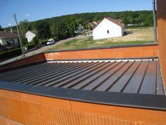 garage toit plat avec buché | garage | Pinterest | Garage toit plat ...