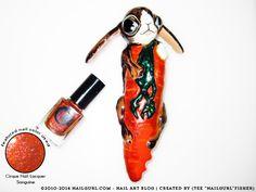NailGurl: Nail Art Blog: Cirque Nail Lacquer: Sanguine