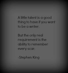 Stephen King, on writing Writing Advice, Writing Help, Writing A Book, Writing Prompts, Quotes About Writing, Fiction Writing, Essay Writing, Writer Quotes, Book Quotes