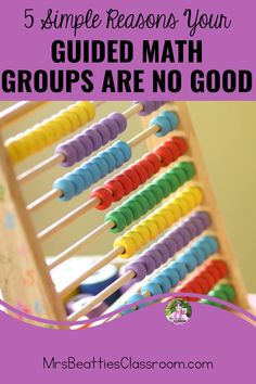 Guided Math is a fantastic teaching structure, but your groups don't work. Here are five simple reasons your Guided Math groups are no good. Fun Math Games, Math Activities, Math Resources, Classroom Resources, Guided Math Groups, Math Formulas, Math Questions, Primary Maths, Maths Puzzles