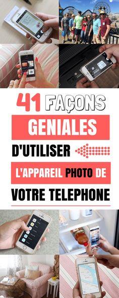 Si vous êtes comme moi, vous utilisez probablement votre smartphone pour prendre des notes ou faire des listes de choses. Mais, en écrivant cet article, je me suis aperçu qu'utiliser l'appareil photo est bien plus rapide et précis pour prendre des notes ! Voici donc 41 façons géniales d'utiliser l'appareil photo de votre téléphone. Smartphone, Multimedia, Iphone Hacks, Facon, Photo Tips, How To Take Photos, Problem Solving, Frugal, Photography Tips