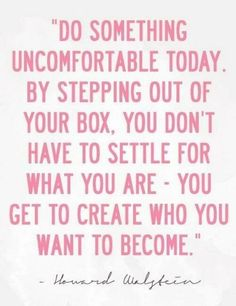 Create who you want to become.