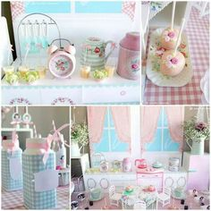 little girls english tea party vintage | ... party by karas party ideas. Perfect for a little girls tea party