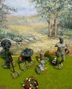dollhouse miniature gardens google search bl 112 dollhouse miniature