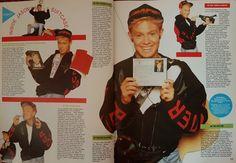 Jason Donovan Smash Hits Yearbook 1990