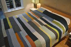 Putnam-Hauser Linen Quilt | Flickr - Photo Sharing!