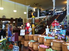 old general stores | Troutdale General Store : With its overflowing baskets of taffy ... https://www.facebook.com/JohnnyCab503