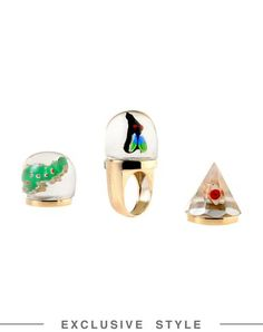 I found this great DELFINA DELETTREZ Ring on yoox.com. Click on the image above to get a coupon code for Free Standard Shipping on your next order. #yoox