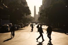 Best city in the world. Downtown Buenos Aires, looking towards the Obelisco, Argentina. Beautiful Places To Visit, Oh The Places You'll Go, Places To Travel, Belize, Honduras, American Cruises, Costa Rica, Argentina Travel, South America Travel