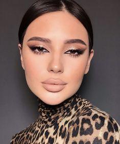 Neutral Makeup, Glam Makeup, Skin Makeup, Eyeshadow Makeup, Beauty Makeup, Drugstore Makeup, Makeup Eye Looks, Pretty Makeup, Makeup Trends