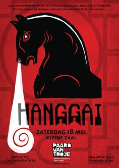 #hanggai artwork by #studiosmokingpig #traditionals #paardvantroje