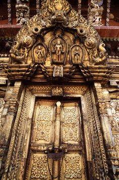 Détail architectural, Népal