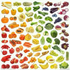 Shop the rainbow for complete micronutrients. Every color has it's unique benefits.