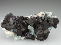 Fluorite w/ Apatite