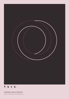 Company branding Monotono - The Absurdity of Form. Poster Study. by Ryan Atkinson, via Behance