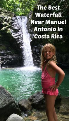 We successfully found best waterfall near Manuel Antonio National Park Costa Rica that you can access on foot, and I want to share with you here exactly how to find this gem if you're in the Quepos/ Manuel Antonio area!