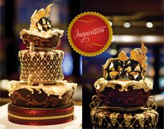 Cake by Cake Opera Co |Photographed by Ikonica|