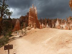 L'orage au-dessus de Bryce Canyon