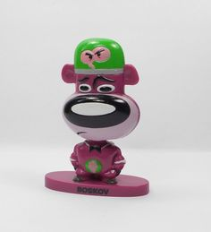 Evil Con Carne - Boskov - Bobble Head Toy Figure - Cake Topper - Cartoon Network