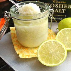 Mom, What's For Dinner?: DIY Margarita Hand and Body Scrub