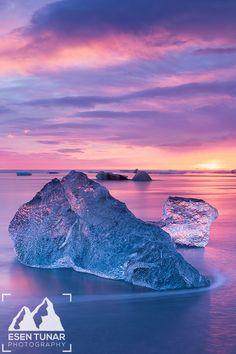 On the Rocks - Jokulsarlon Glacier Lagoon, Vatnajokull National Park, Iceland