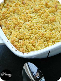 Mom's Test Kitchen: Chicken & Cornbread Casserole #QuickFixCasseroles