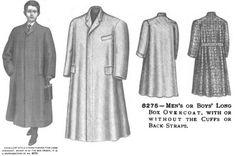 Edwardian Era Clothing: Edwardian Era Men's and Boy's Outerwear - March 1905 The Delineator