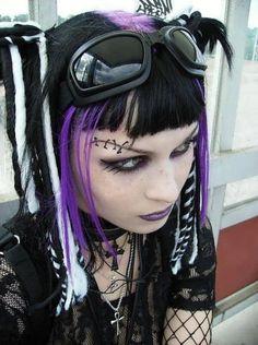 Stitch me up Cyberpunk #Goth girl