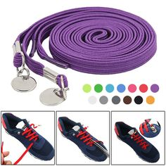2Pair Lot Unisex Khaki Reinforced Round Nylon Shoelace Skate BootLaces NEW